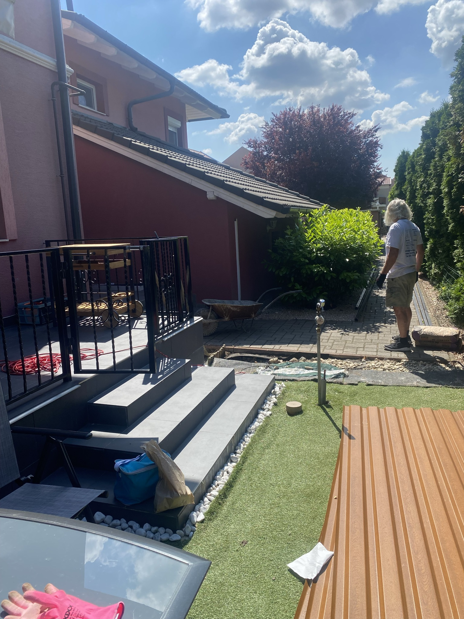 Biatorbágy T10 kerítés építés