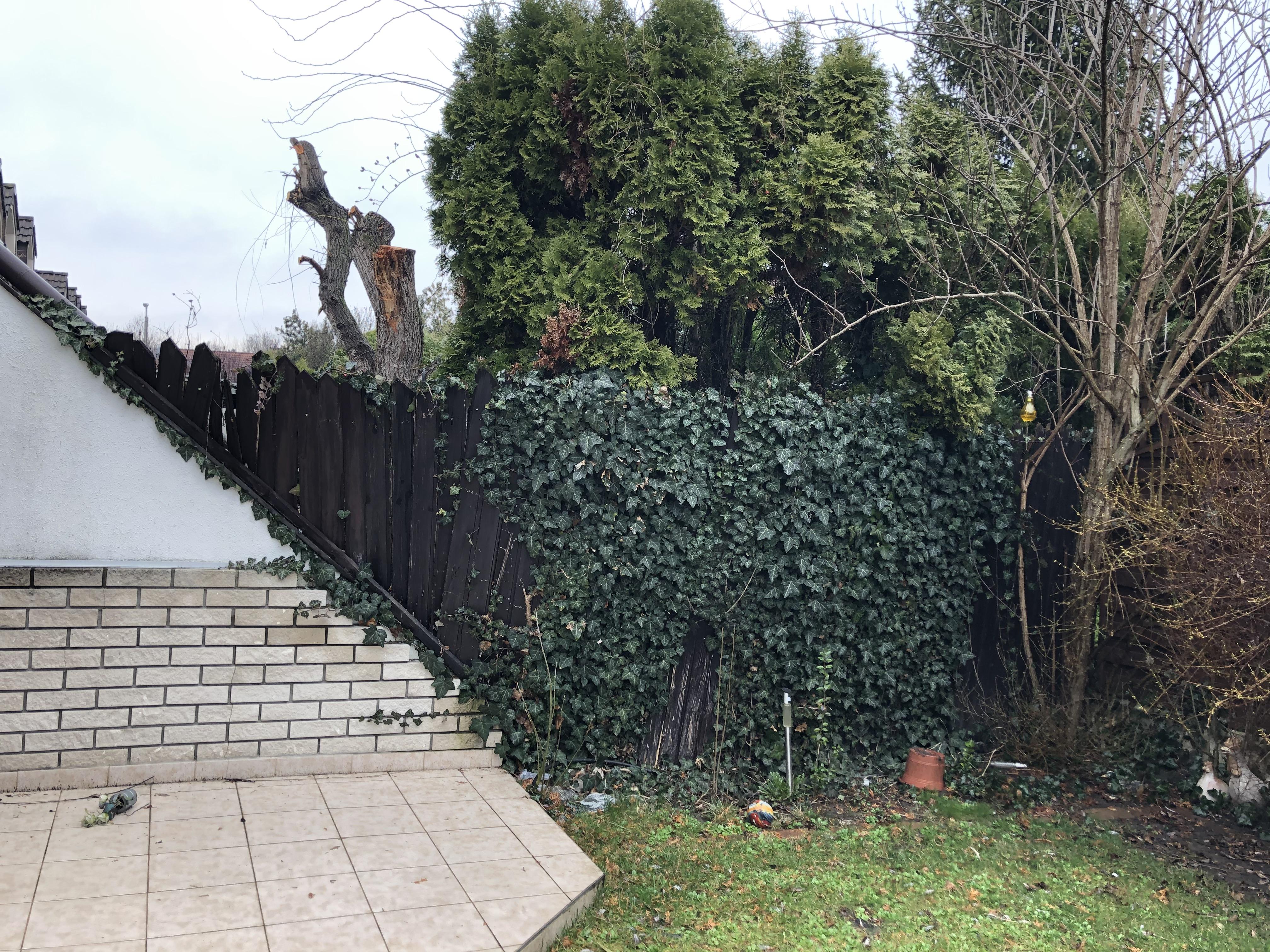 Bp IV ker Megyer lemezes kerítés építés