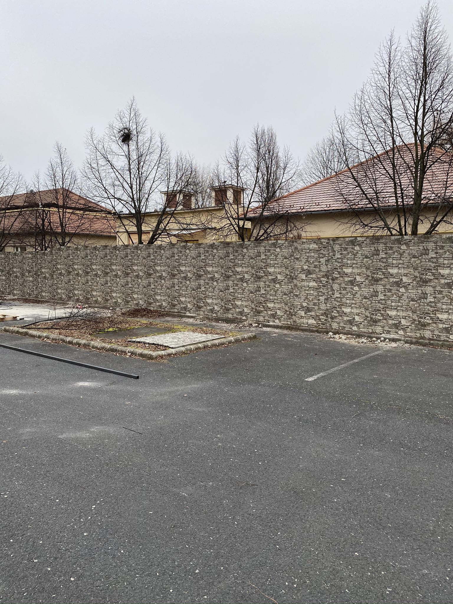 Bp XV. ker Bogáncs u. kerítés építés