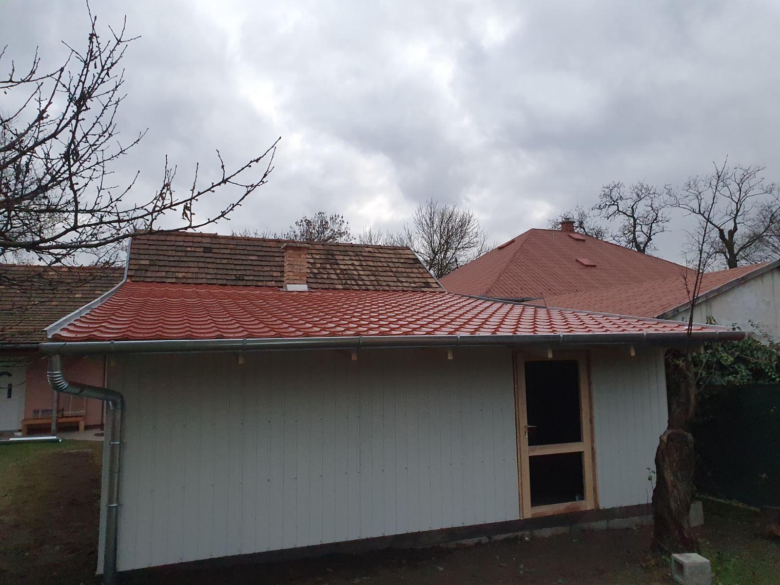 Bp XVI ker könnyűszerkezetű épület építése