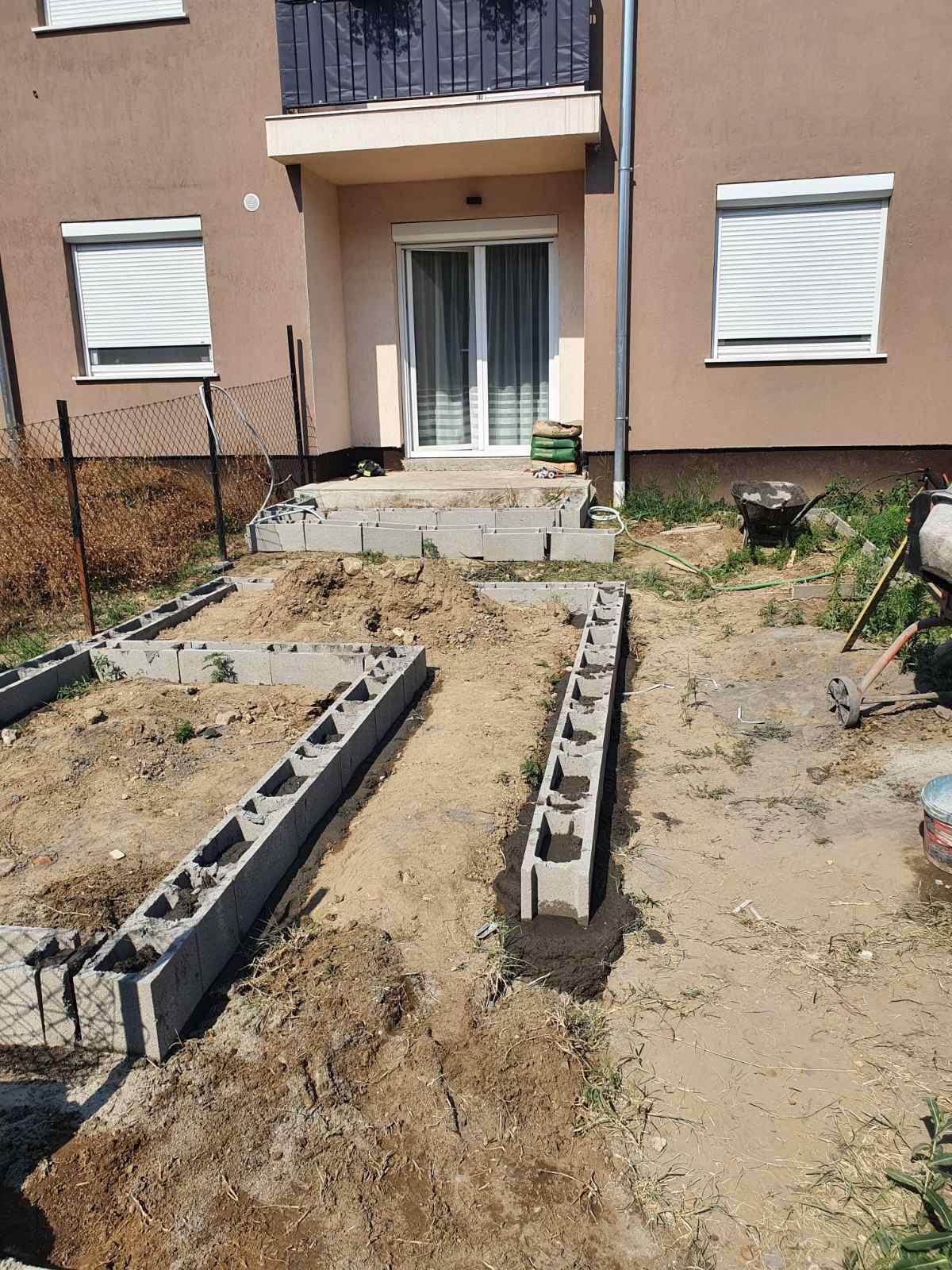 Bp XVI ker kis ház alap készítése