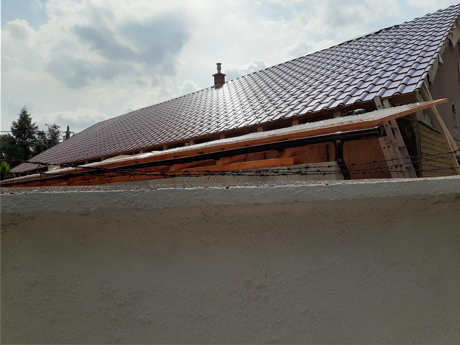 Bp. IV.ker. Megyer tető építés