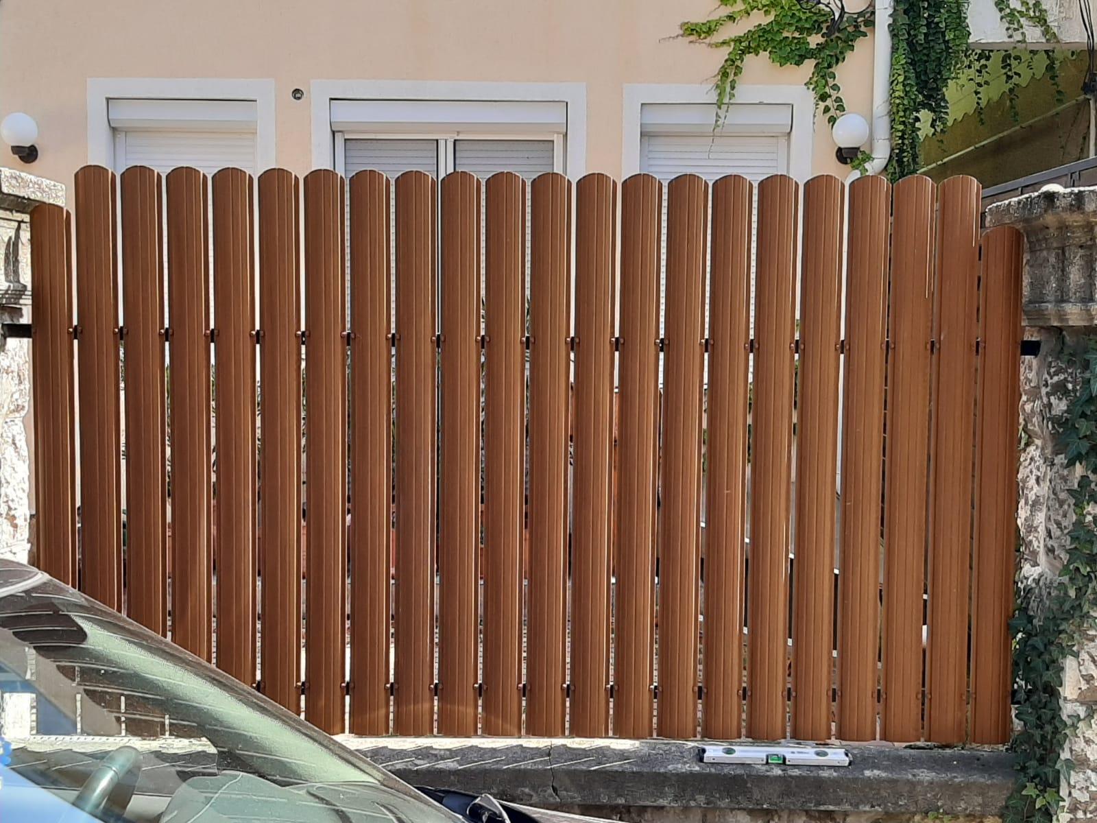 Budafok tüzér u kerítés