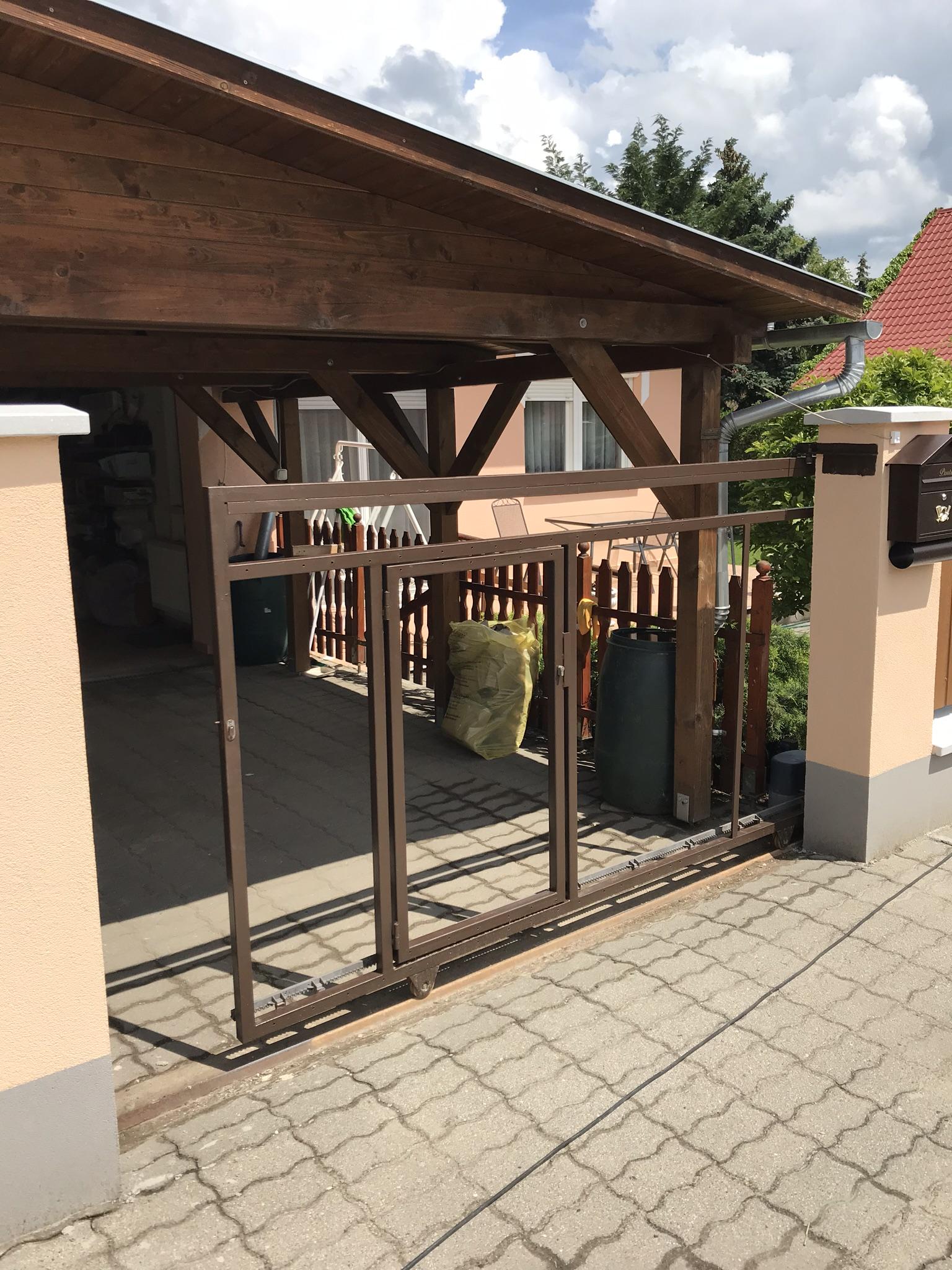 Dkeszi kerítés Mátyás király u