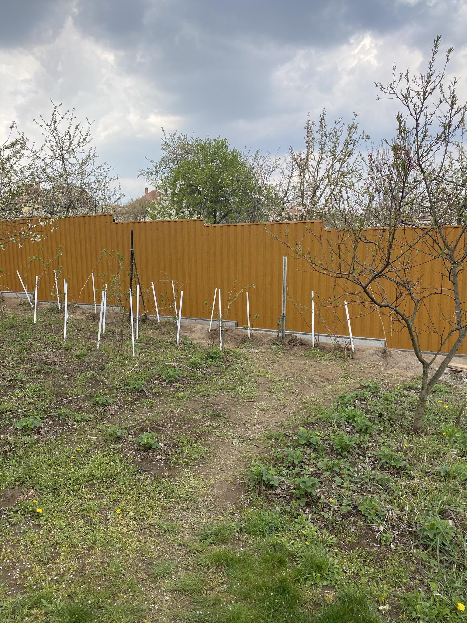 Pécel T12 bol kerítés építés