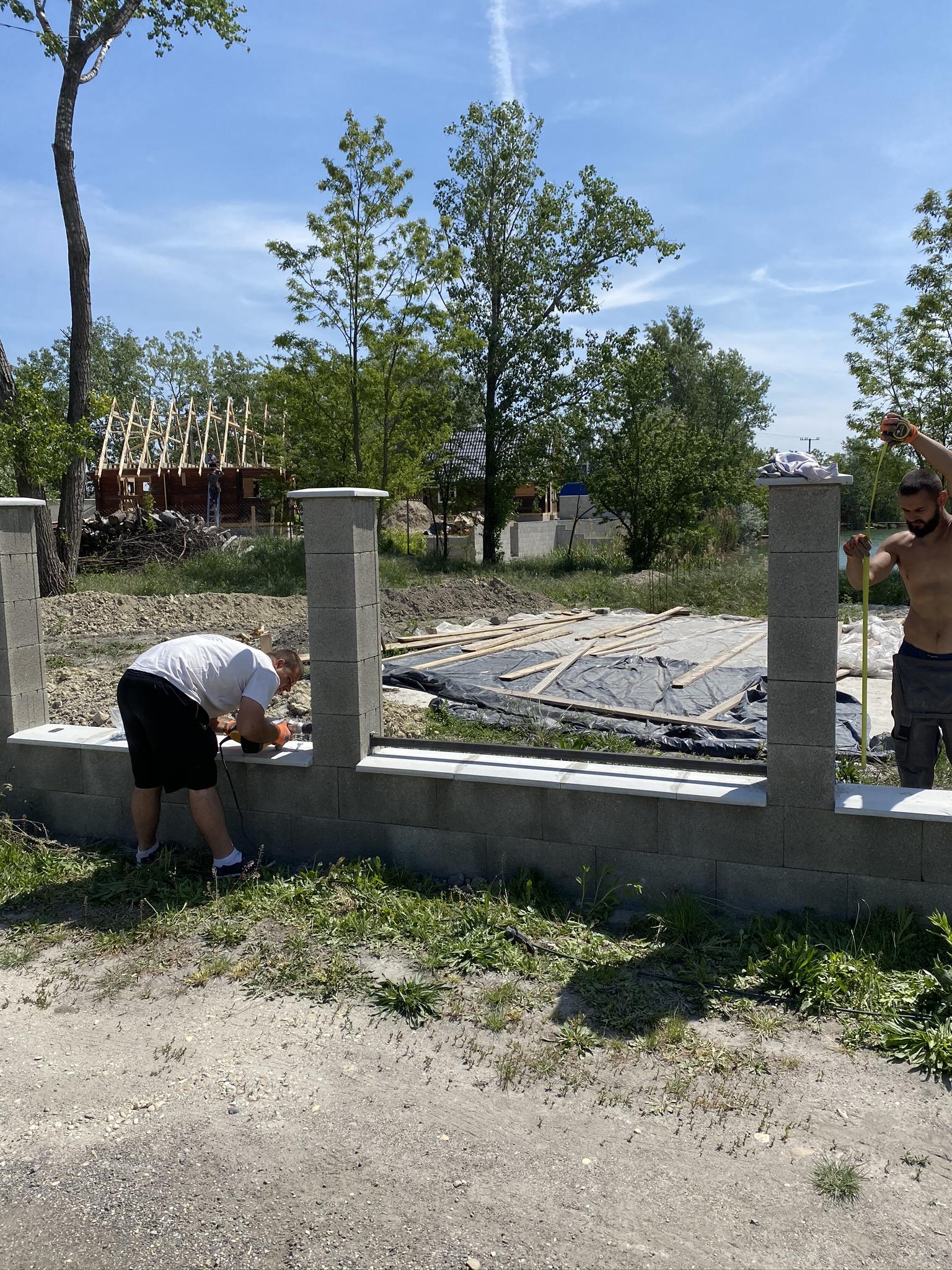 Szigetszentmiklós trapézlemez kerítés építés