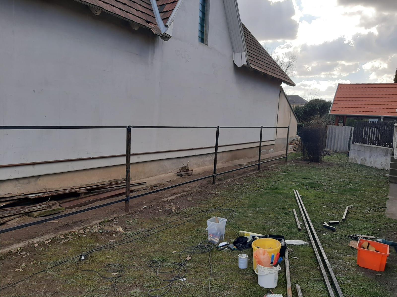 Vecsés kerítés építés 2